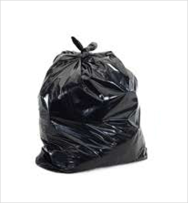 Garbage Bags (Black/White/Clear)