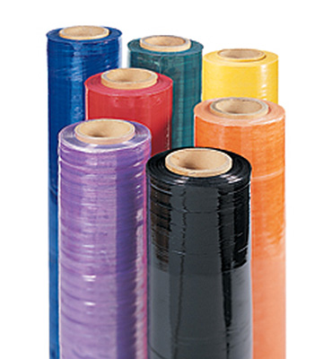Stretch Film (Hand roll - Coloured)